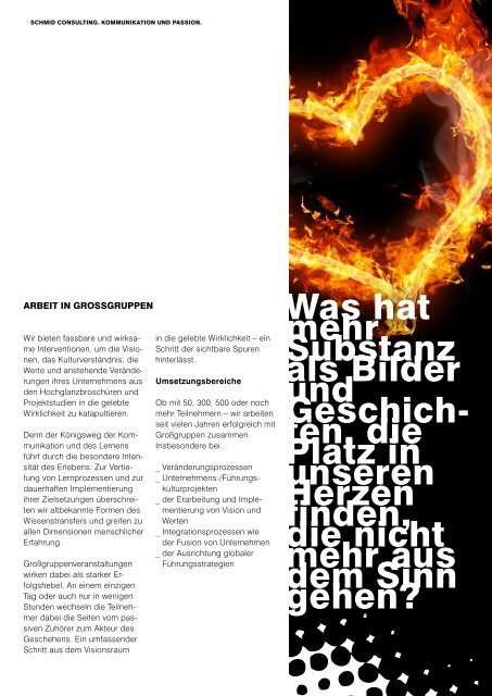 Schmid Consulting-Unternehmensfolder
