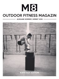 M8 Outdoor Fitness Magazin | Sommer/Herbst 2016