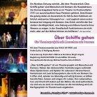 """Flyer zur Wiederaufnahme des Theaterstücks """"Über Schiffe gehen – Ein Theaterprojekt mit Menschen mit Demenz"""" - Seite 3"""