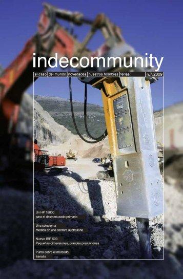Indecommunity 7/2009 (ES)