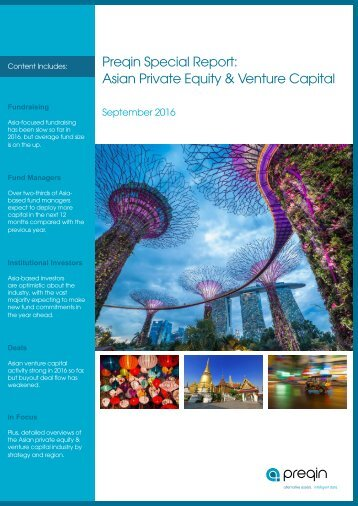 Preqin Special Report Asian Private Equity & Venture Capital Asiabased