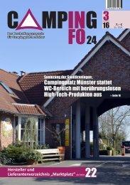 campinginfo24-Das Magazin 3/2016