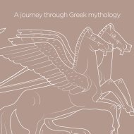 A journey through Greek mythology