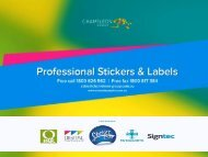 Professional Sticker Printing Solutions