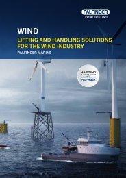 PALFINGER MARINE wind brochure