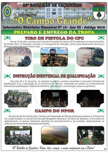 Informativo O Campo Grande - Edição nº 16.compressed