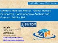 Magnetic Materials Market