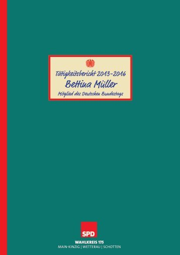 2016 Tätigkeitsbericht BEM