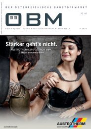 201609 ÖBM Der Österreichische Fachmarkt - Stärker gehts nicht.