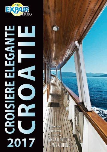 Croisière élégante Croatie 2017 (au départ de Dubrovnik)