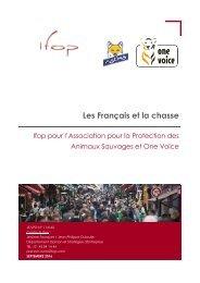 Rapport - ASPAS & OV les français et la chasse
