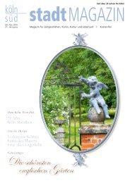 stadtMAGAZIN köln-süd | Ausgabe Oktober/November