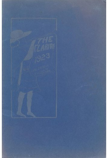 The Clarion 1923