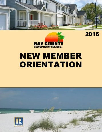 2016 new member orientation booklet