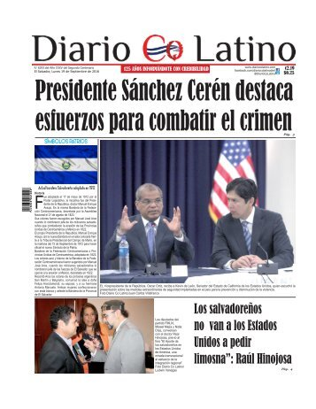 Edición 19 de Septiembre de 2016