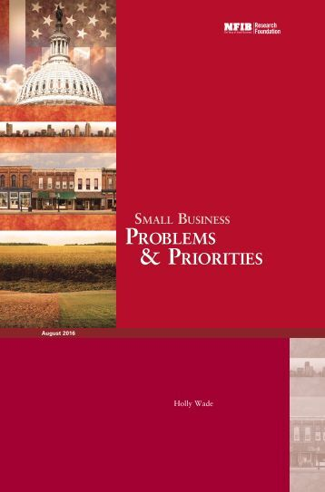 Problems & Priorities