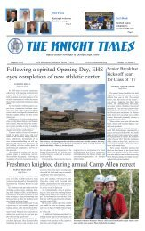 THE KNIGHT TIMES - August 2016