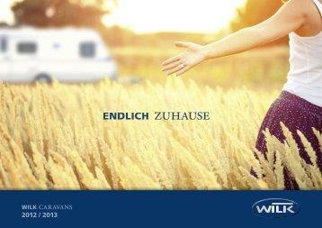 Katalog Wilk Wohnwagen 2013 - bei Top Caravan