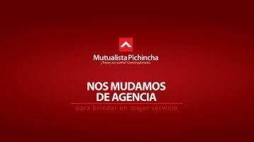 NOS MUDAMOS DE AGENCIA
