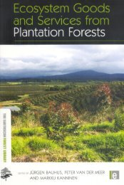 Plantation forests: global perspectives - CIFOR