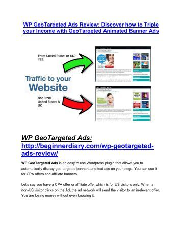 WP GeoTargeted Ads review pro-$15900 bonuses (free)
