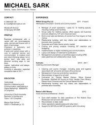 Michael Sark - Resume 2016 (1)