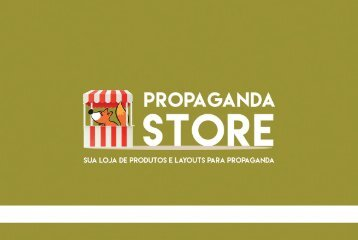 PROPAGANDA STORE - PORTFOLIO
