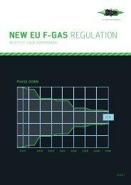 Neue EU F-Gase Verordnung