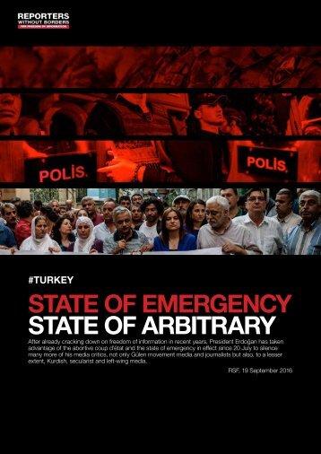 state of arbitrary