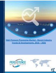 High Pressure Processing Market