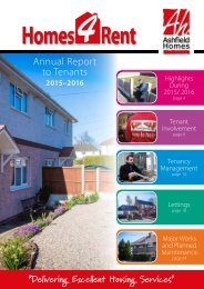 Annual Report to Tenants