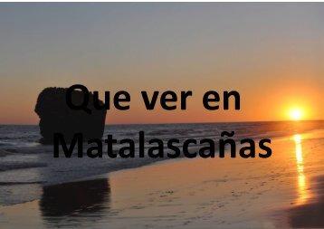 Turismo en Matalascañas