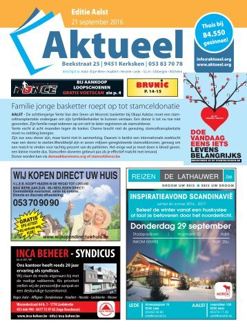 Editie Aalst 21 september 2016