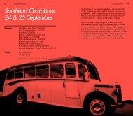 Southend Charabanc 24 & 25 September