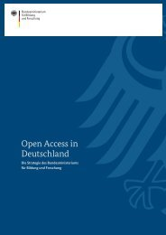 Open Access in Deutschland