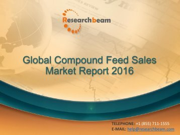 Global Compound Feed Sales Market Report 2016