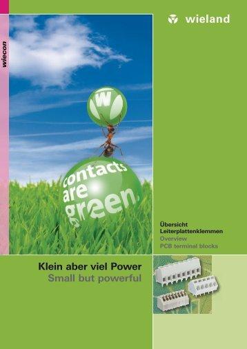 Small but powerful Klein aber viel Power - Omni Ray AG