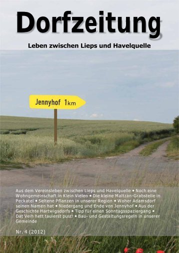 Dorfzeitung - Gemeinde Klein Vielen