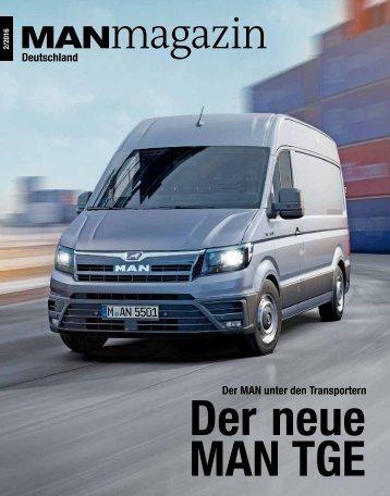 MANmagazin Ausgabe Lkw 2/2016
