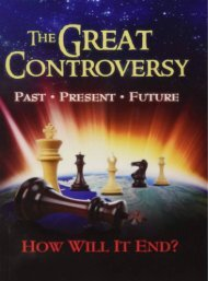 The Great Controversy by Ellen G White
