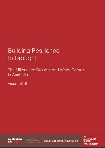 Building Resilience to Drought