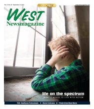 West Newsmagazine 9-21-16