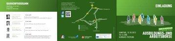 Programmflyer - Regionalmanagement Freyung-Grafenau