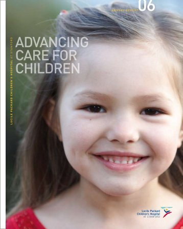 health care of the highest standards - Lucile Packard Children's ...