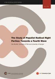 The Study of Populist Radical Right Parties Towards a Fourth Wave