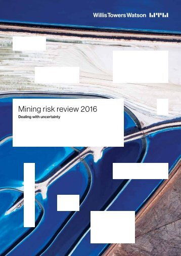Mining risk review 2016
