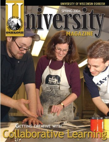 Spring 04 (pdf) - University of Wisconsin Oshkosh
