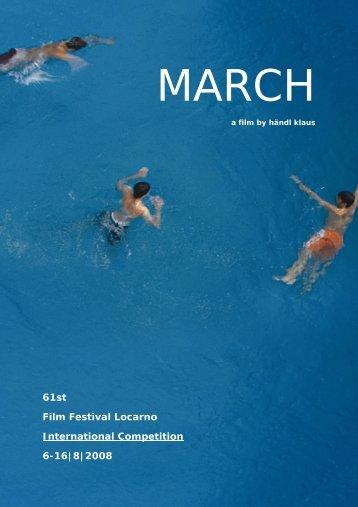 61st Film Festival Locarno International Competition 6-16|8|2008