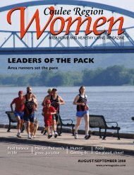August/September 2008 - Coulee Region Women Magazine