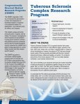 Tuberous Sclerosis Complex Research Program - Page 2